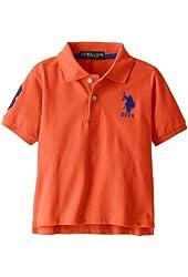 Little Boys' Solid Short Sleeve Polo Shirt