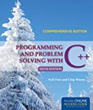 img - for Programming And Problem Solving With C++: Comprehensive book / textbook / text book