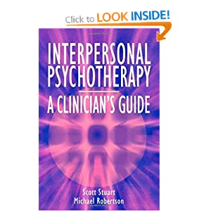 interpersonal therapy  manual