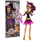 "Mattel Year 2013 Monster High ""Frights, Camera, Action!"" Hauntlywood Series 11 Inch Doll Set - Black Carpet CLAWDEEN WOLF ""Daughter of the Werewolf"" with Purse"