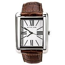 Michael Kors Mens Womens Unisex Brown Leather Watch MK2244