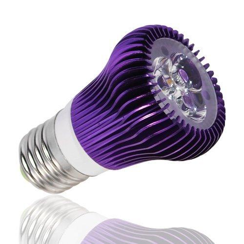 Lohas Dimmable Led Spotlight Lamp 110V 240V 6W 3X2W (500 Lumen - 40 Watt Incandescent Equivalent Bulb) Warm White - Purple