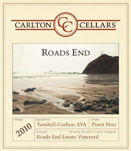 2010 Carlton Cellars Roads End Oregon Pinot Noir 750 Ml
