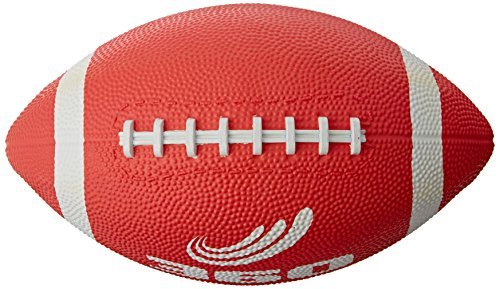 360 Athletics Playground Series Football, Size 6, Red