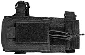 Tactical Magazine Mag Pouch With Adaptor For Rifle Buttstocks Fits Ruger Mini14, Mini30, AR15, M16, Howa 1500, Remington 700, AK47, MAK90, Saiga, SKS