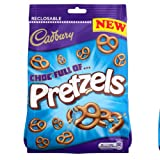 Cadbury Chocolate Pretzels Bag 110g