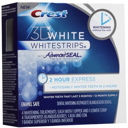 Crest 3D White 2-HR Express Whitestrips Dental