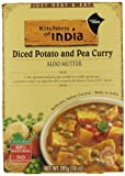 Kitchens of India Aloo Mutter - Diced Potato and Pea Curry, 10 Ounce (Pack of 6)
