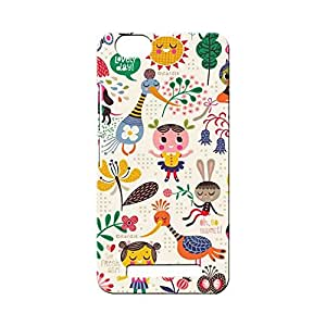 G-STAR Designer Printed Back case cover for Lenovo Vibe C ( A2020) - G6820