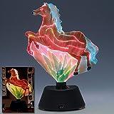 Fiber Optic Horse- Fiber Optic Horse-Light up Night light Rainbow of colors - Wonderful gift for everyone