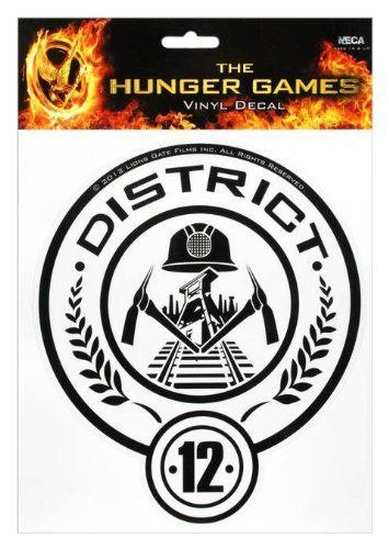 The Hunger Games Movie Vinyl Decals - District 12 - 1