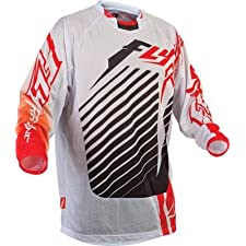 Fly Racing Youth Kinetic RS Mesh Motocross Jersey Red/White Extra Large XL