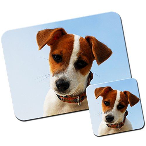 portrait-of-a-jack-russell-dog-mouse-mat-pad-and-coaster-set