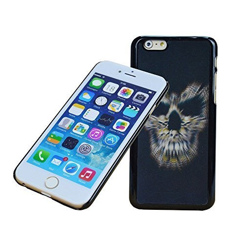 3d Cover-hologram Changing Picture 3d,skull Man 3d Changing Pattern Case Cover for Iphone6 Plus (Skull-i6 Plus)