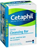 Cetaphil Cleansing Bar, 4.5 oz, 3 pk