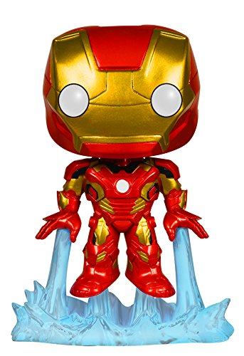 Funko Marvel: Avengers 2 - Iron Man Bobble Head Action Figure - 1