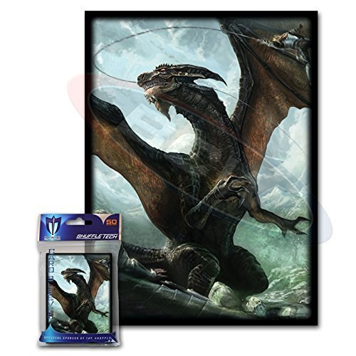 100-Max-Protection-Another-Rough-Day-Design-Large-Gaming-Trading-Card-Protector-Sleeves-for-Magic-the-Gathering-Pokemon-World-of-Warcraft-Kaijudo-Duel-Masters-and-Cardfight-Vanguard-Cards