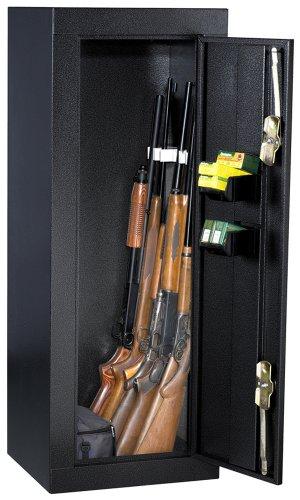 Homak Hs30103630 12-Gun Security Cabinet, Gloss Black
