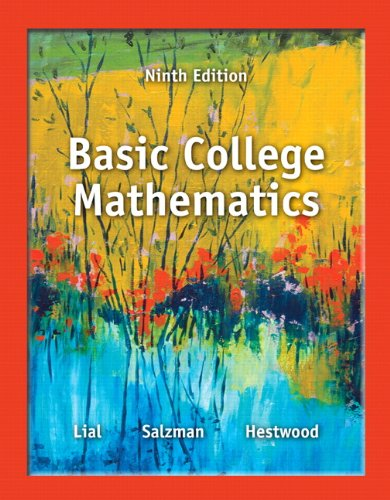 Textbook answers gradesaver basic college mathematics 9th edition fandeluxe Choice Image