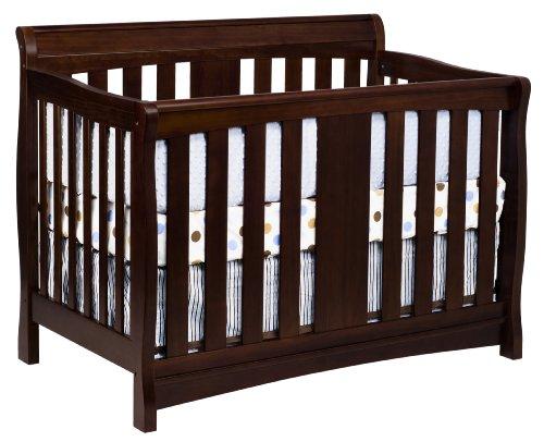 DaVinci Rowan 4-in-1 Convertible Crib with Toddler Rail, Espresso