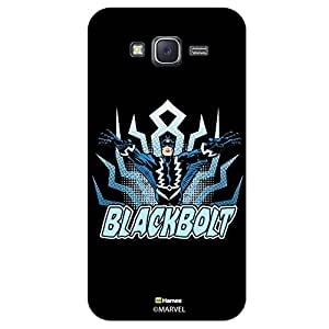 Hamee Marvel Xiaomi Redmi 2 Case Cover Blackbolt Illustration Black