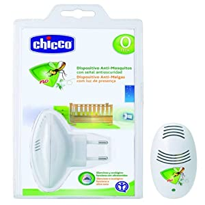 Chicco 00001886300040 - Dispositivo antimosquitos y antioscuridad, color blanco de Chicco