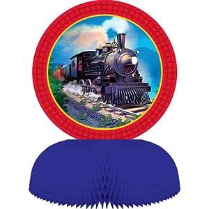Clickety-Clack Train Centerpiece