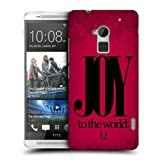 Head Case Designs Joy Christmas Statements Protective Snap-on Hard Back Case Cover for HTC One Max