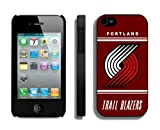 Top Case for Iphone 4 4s NBA Portland Trail Blazers 02 Sports Element Coolest Custom Made Phone Cover at Amazon.com