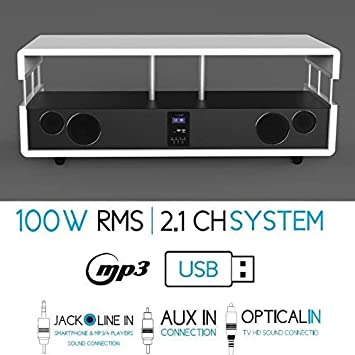 SoundVision 100 W RMS 2.1 Channel Home Cinema System - White