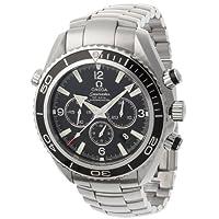 [オメガ]OMEGA 腕時計 プラネットオーシャンクロノ ブラック文字盤 コーアクシャル自動巻 クロノグラフ デイト 600M防水 2210.50 メンズ 【並行輸入品】