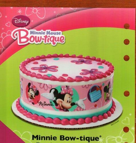 Minnie Mouse Bowtique Cake Decorations