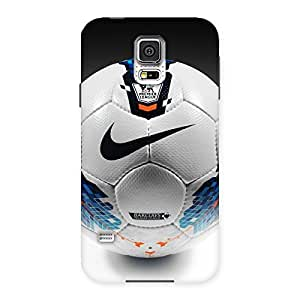 Delighted Soccer Multicolor Back Case Cover for Samsung Galaxy S5
