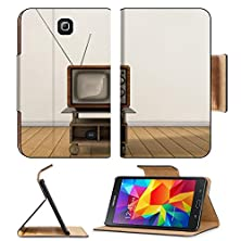 buy Msd Premium Samsung Galaxy Tab 4 7.0 Inch Flip Pu Leather Wallet Case Vintage Tv Image 21809012