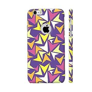 Colorpur Colorful Splash Cool Pattern Artwork On Apple iPhone 6 / 6s Logo Cut Cover (Designer Mobile Back Case) | Artist: Sangeetha