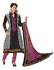 Komal Art Ethnicwear Women's Dress Material(Komal Art_Preyanshi5114_Multi-Coloured_Free Size)