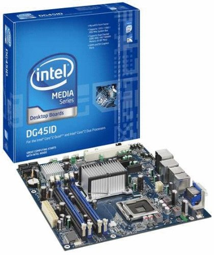 Intel DG45ID Media Series G45 micro-ATX Intel Graphics HDMI+DVI 1333MHz LGA775 Desktop Motherboard