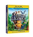 #9: Les cinq légendes - Super Combo -  DVD + Blu-ray 2D + Blu-ray 3D [Blu-ray]