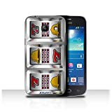 STUFF4 Phone Case Cover for Samsung Galaxy Trend 3G3502 Bars Design Slot Machine Collection