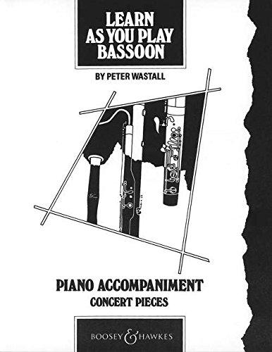Learn as You Play Bassoon: Piano Accompaniment (Learn as You Play Series)