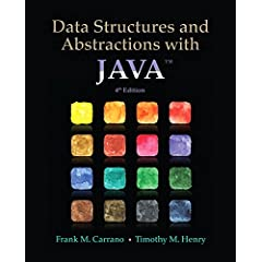 Data Structures and Abstractions with Java, 4th Edition from Prentice Hall
