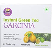 Green Tea Garcinia - 50 Gms, Pack Of 25 Sticks