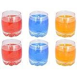 Popular Candles Gel Wax Gel Candles (300 Gram, Assorted Colours)