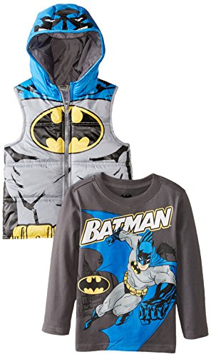 DC Comics Boys' 2 Piece Batman Vest Set at Gotham City Store