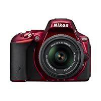 Nikon デジタル一眼レフカメラ D5500 18-55 VRII レンズキット レッド 2416万画素 3.2型液晶 タッチパネル D5500LK18-55RD