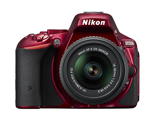 Nikon discount duty free Nikon digital single-lens reflex camera D5500 18-55 VRII lens kit Red 24.16 million pixel 3.2-inch LCD touch panel D5500LK18-55RD