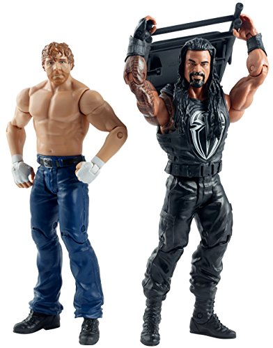 WWE Battle Pack SummerSlam Series Action Figure - Roman Reigns & Dean Ambrose (Pacco Doppio)