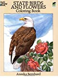 State Birds and Flowers Coloring Book