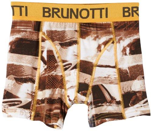Brunotti Jungen Unterwäsche Shawny Boys Underwear Single Pack, White, 140, 132239901N