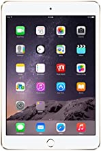 Apple iPad Mini 3 - 128 Go - Or - version Wifi + 4G